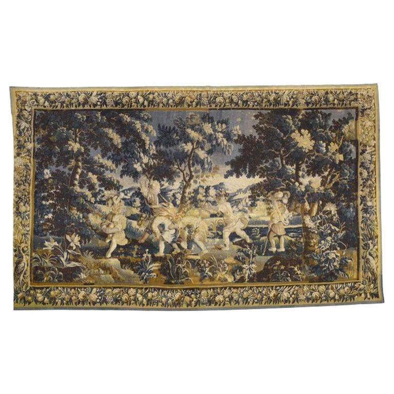 Aubusson Verdure Tapestry