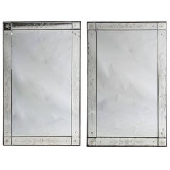 Pair of French Cafe Mirrors
