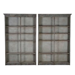Pair of Late 19th Century Display Shelves