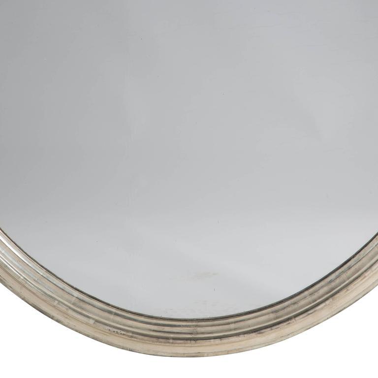 Pair of 19th Century Silver Gilt Mirrors 1