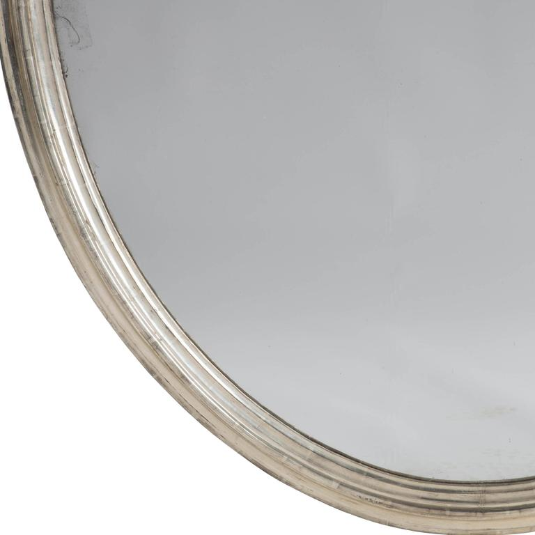 Pair of 19th Century Silver Gilt Mirrors In Good Condition In Gloucestershire, GB