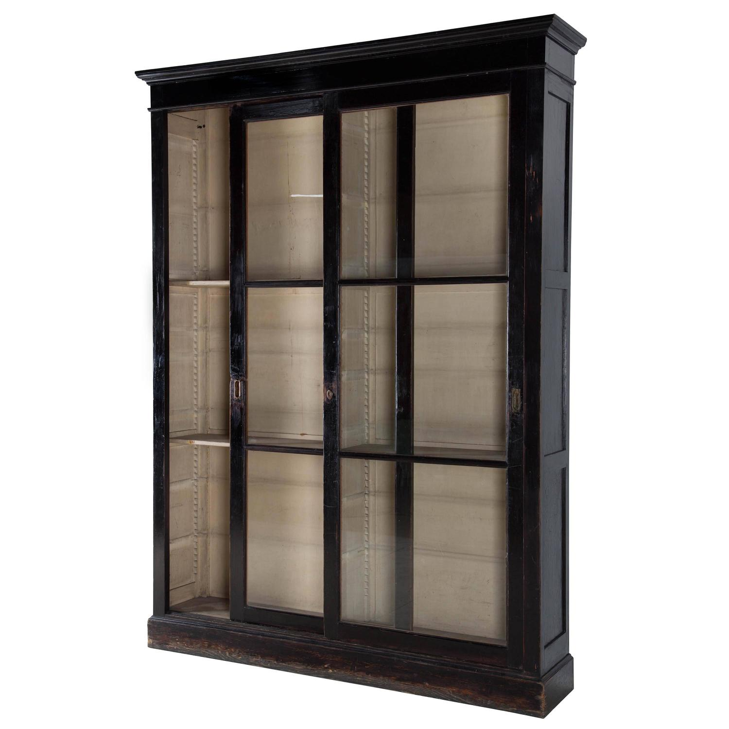 19th century ebonized cabinet at 1stdibs for 19th century kitchen cabinets