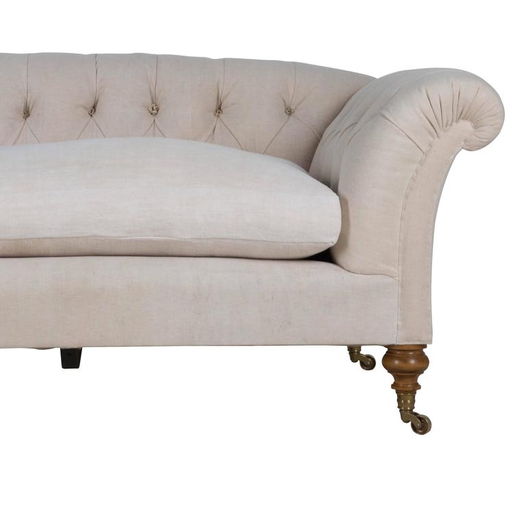 Leather Sofas Gloucestershire: Howard And Sons Style Sofa For Sale At 1stdibs