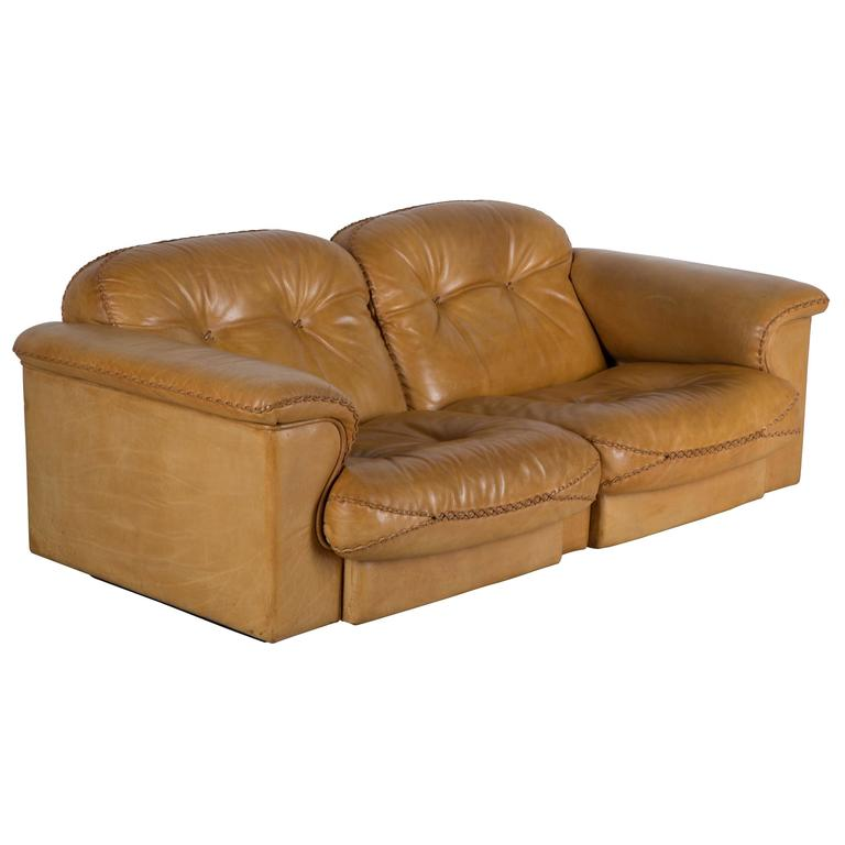 Leather Sofas Gloucestershire: 1970s Leather Reclining Sofa At 1stdibs
