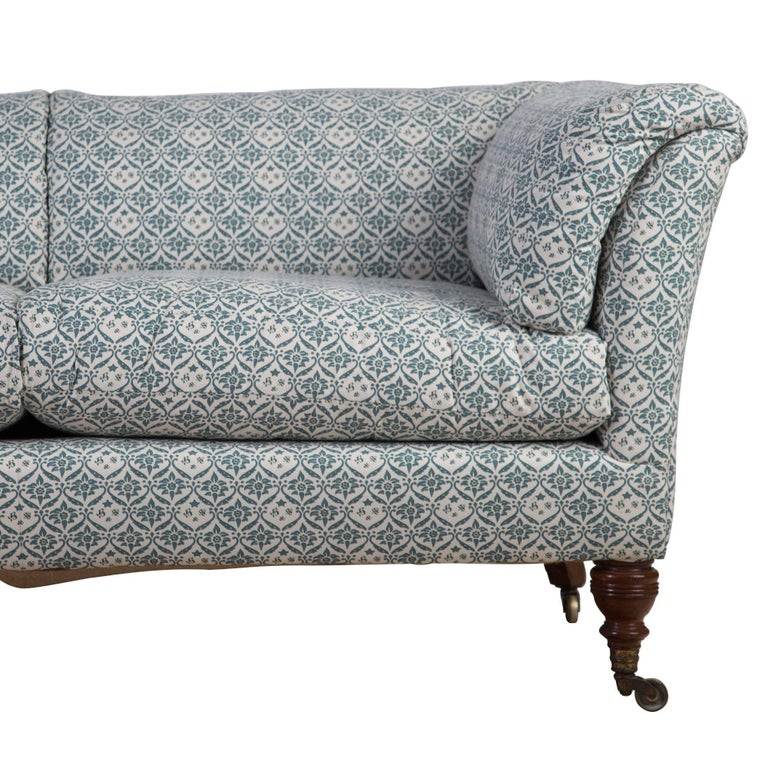 Leather Sofas Gloucestershire: 19th Century Howard And Sons Baring Sofa At 1stdibs