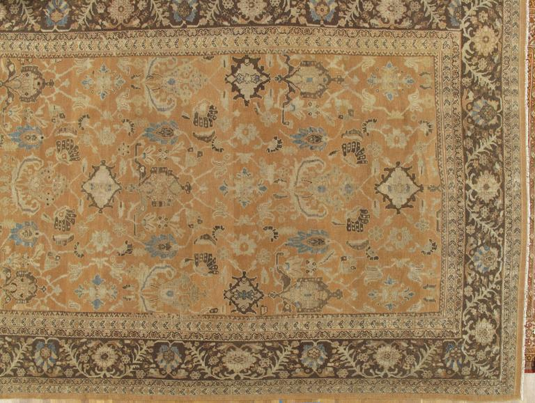 In 1883, Ziegler and Co., of Manchester, England, established a Persian carpet manufacture in Sultanabad, Iran, employing designers from major Western department stores, like B. Altman and Liberty of London, to modify fanciful 16th-17th century