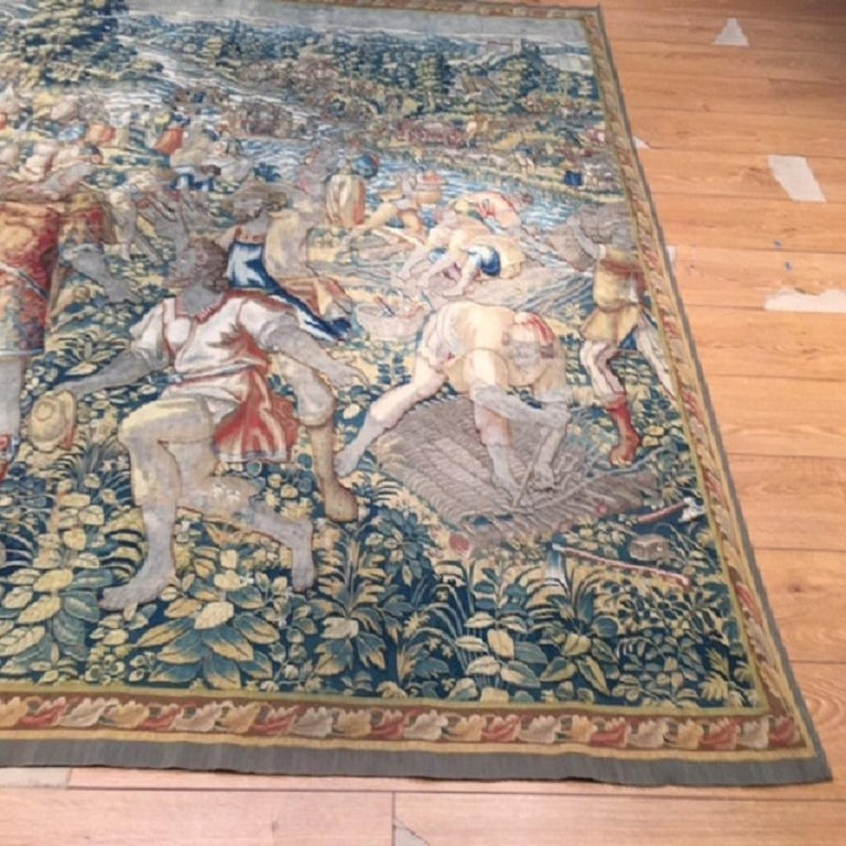 Tapestries were ubiquitous in the castles and churches of the late medieval and Renaissance eras. At a practical level, they provided a form of insulation and decoration that could be easily transported. In addition, the process of tapestry weaving,