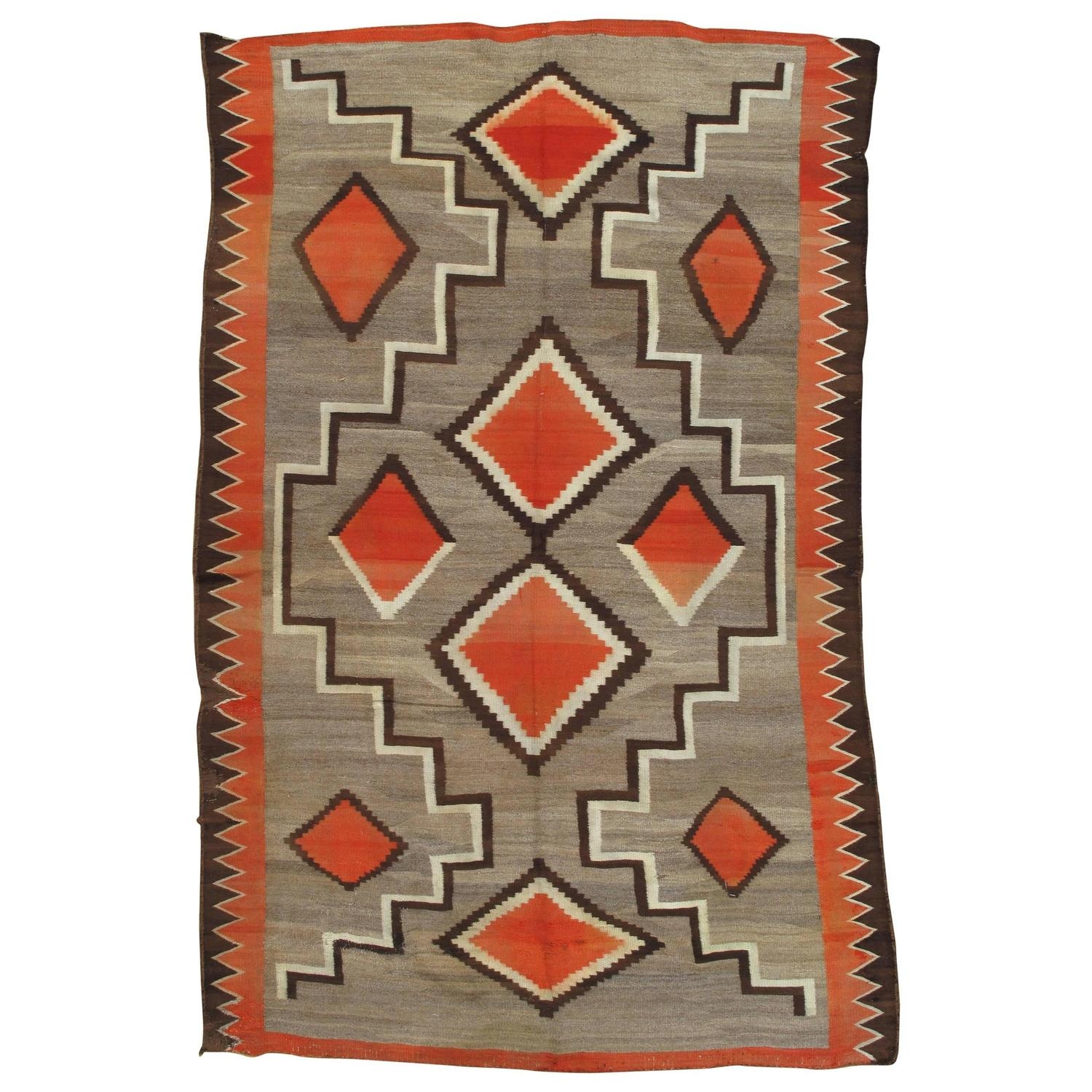 Chinese Rug Dealers: Antique Navajo Rug For Sale At 1stdibs