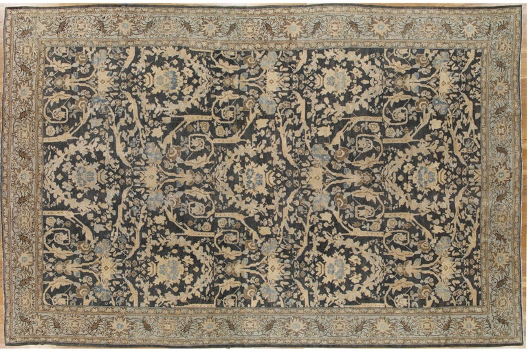 Sultanabad is a region in NW Persia. It was the site of the principle Ziegler weavings in the late 19th century. Sultanabad's are famous for their floral designs as they improved the quality and designs to match the European taste. Adapting the
