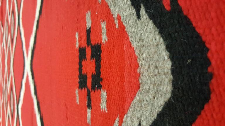 Antique Navajo Blanket Quot Bird Eye Quot Design Oriental Rug