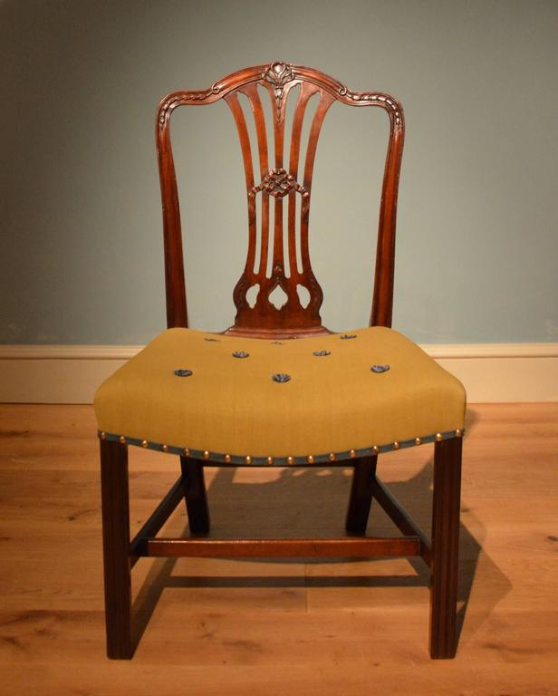 Ten 18th Century Dining Chairs In Excellent Condition For Sale In Salisbury Wiltshire, GB
