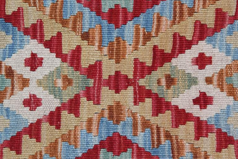 Blue Rug New Kilim Rugs, Traditional Rugs, Carpet from Afghanistan In Excellent Condition For Sale In Hampshire, SO51 8BY