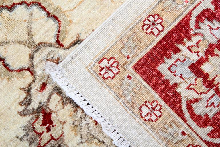Sultanabad Cream Oriental Rug, Persian Style Rugs, Beige Carpet for Living Room Rugs  For Sale