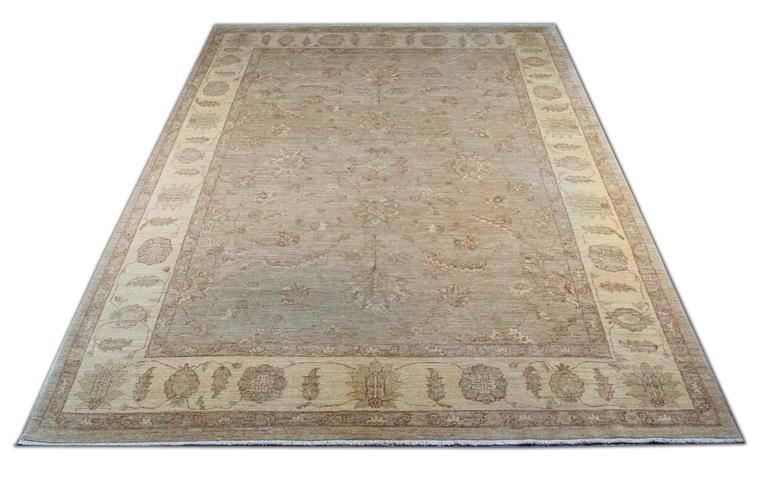 This Floral Patterned rugs kind of our luxury rugs made of own looms by our master weavers of Afghan rugs, This cream rug is made with organic vegetable dyes all handspun wool rugs. This carpet rug is kind of patterned rugs all-over floral rugs