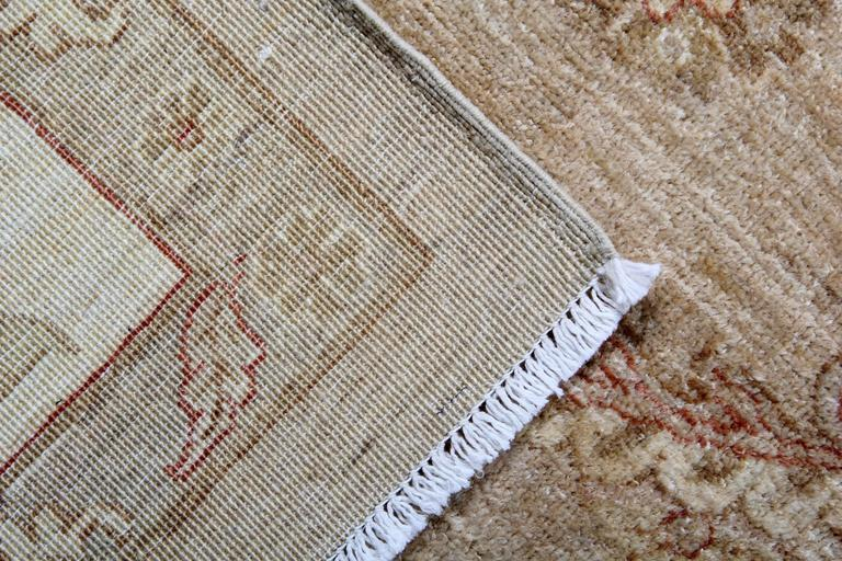 Sultanabad Light Brown Persian Style Rugs, living room rugs with Persian Rugs Design