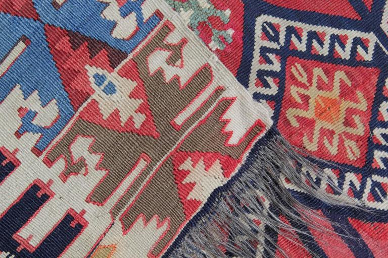 Turkish Rugs, Antique Kilims from Konya In Excellent Condition For Sale In Hampshire, SO51 8BY