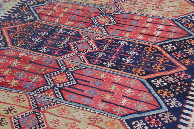 Late 19th Century Turkish Rugs, Antique Kilims from Konya For Sale
