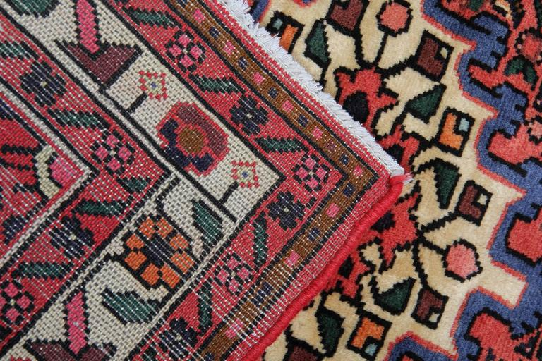 Malayer Persian Rugs, Carpet from Hamedan, Handmade Floor Rug  For Sale