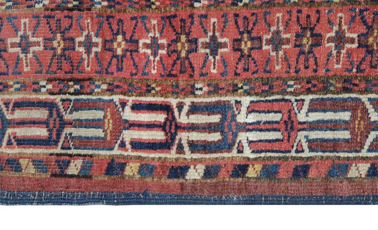 Tribal Antique Rugs, Carpet from Turkmenistan For Sale