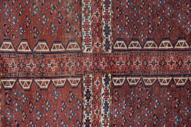 Afghan Antique Rugs, Carpet from Turkmenistan For Sale