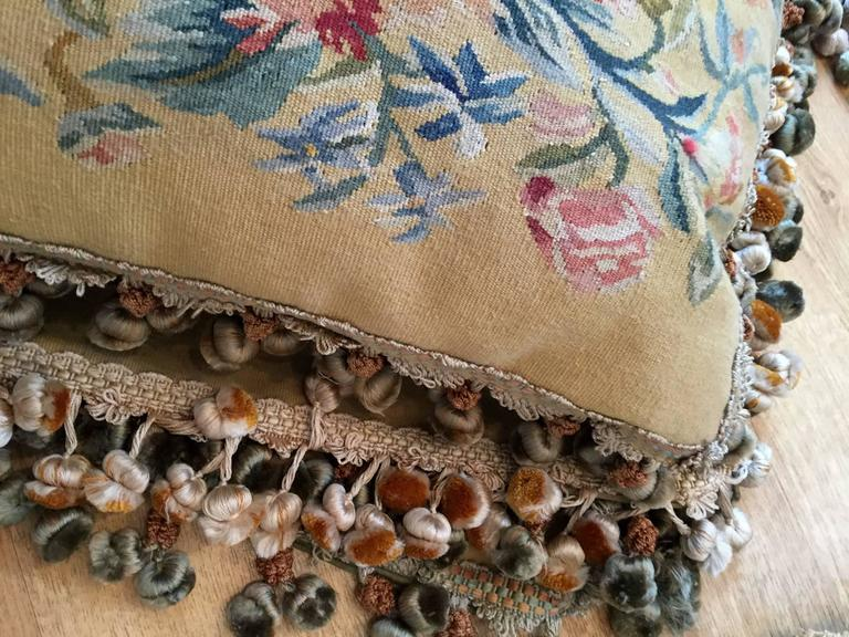 French Provincial Decorative Pillows, French Style Aubusson The Pillow Cushion Covers For Sale