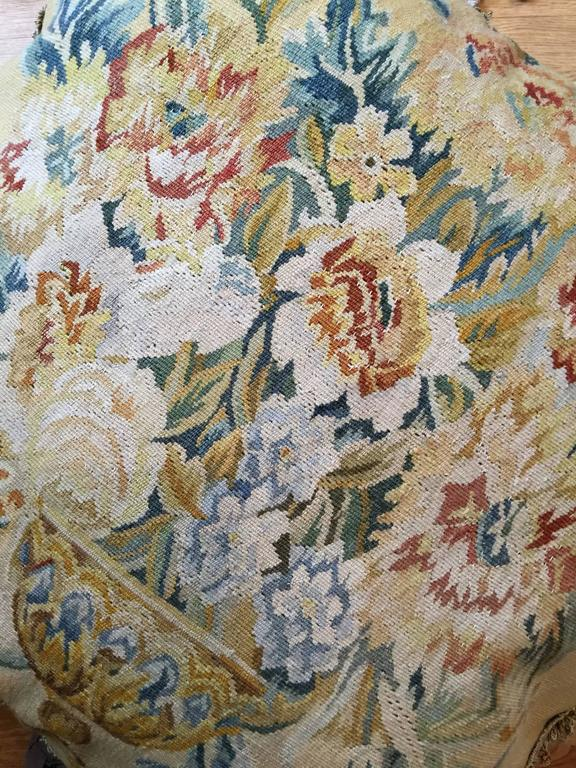 Decorative Pillows, French Style Aubusson The Pillow Cushion Covers In Excellent Condition For Sale In Hampshire, SO51 8BY