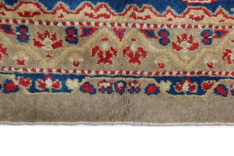 British Colonial Antique Rugs, Exceptional English Axminster, Art Deco Rugs For Sale