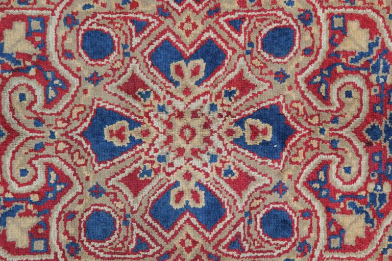 Late 19th Century Antique Rugs, Exceptional English Axminster, Art Deco Rugs For Sale