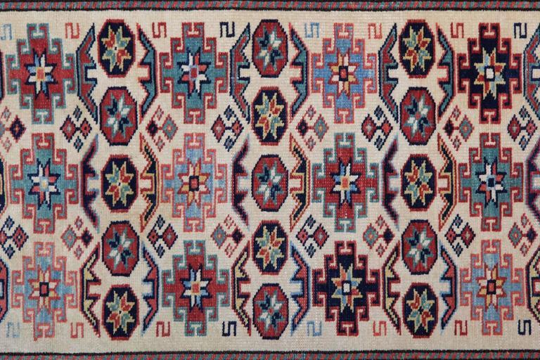Contemporary Handmade Carpet Runners Large Rugs Kazak Runner Rugs, Carpet from Afghanistan For Sale