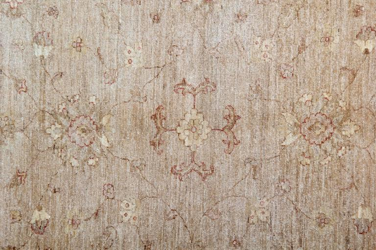 Afghan Light Brown Persian Style Rugs, living room rugs with Persian Rugs Design