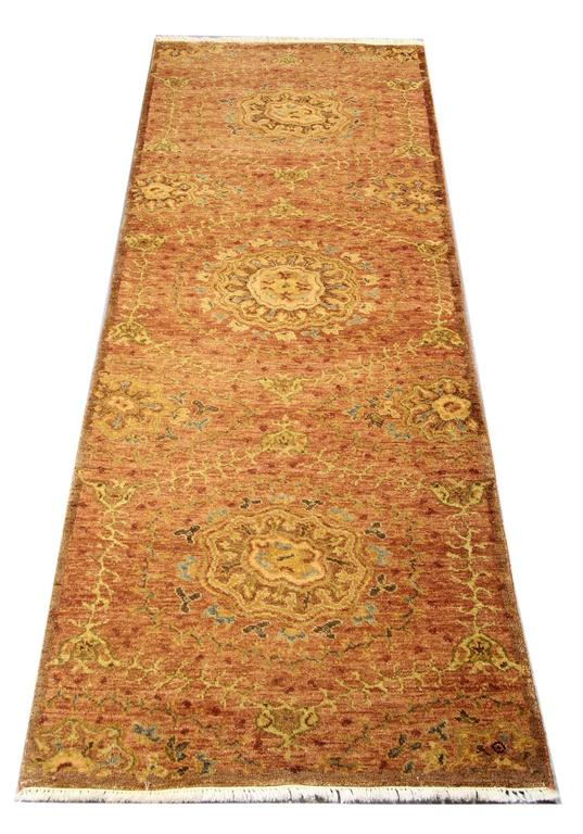 Oriental Rugs, Agra Runner Rugs, Handmade Carpet Runners for Sale In New Condition For Sale In Hampshire, SO51 8BY