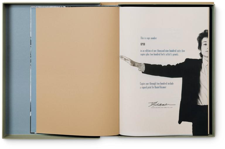 Italian Bob Dylan: A Year and a Day by Daniel Kramer For Sale