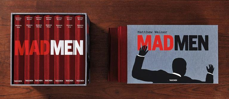Matthew Weiner, 'Mad Men', Art Edition A 'Script Edition' In Excellent Condition For Sale In Los Angeles, CA
