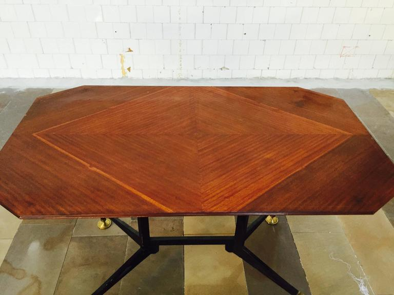 Mid-20th Century Spectacular Table Desk, attributed Design Ignazio Gardella, 1950 For Sale