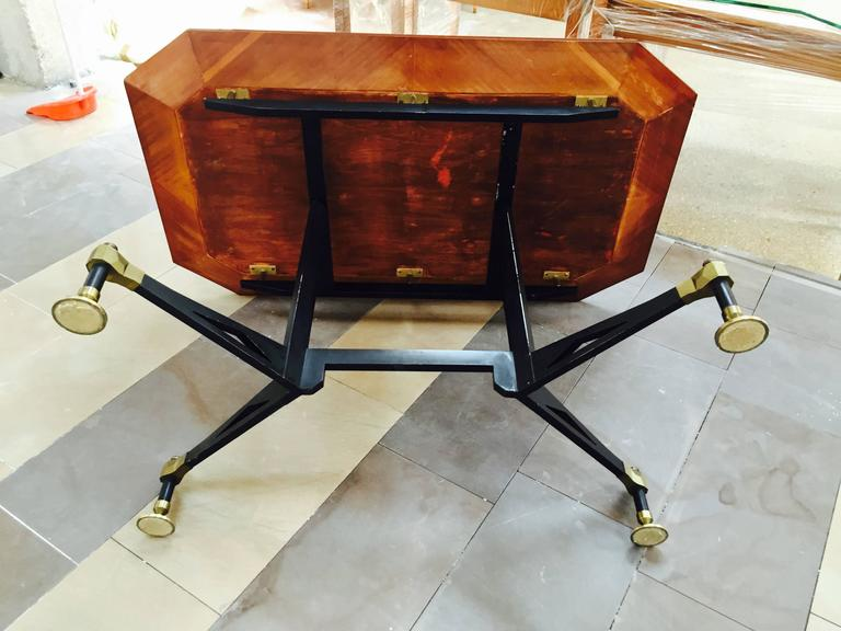 Spectacular Table Desk, attributed Design Ignazio Gardella, 1950 For Sale 2
