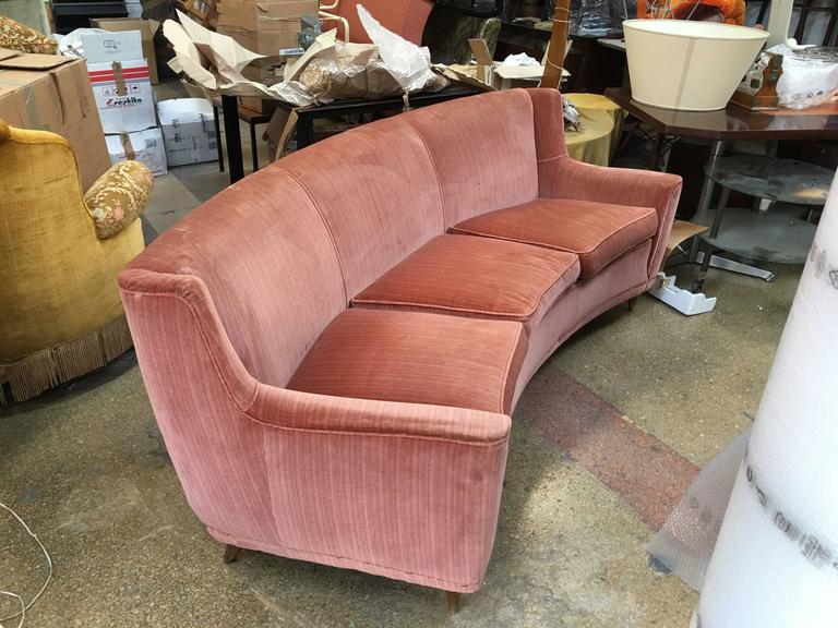 Rare Curved Sofa, Design Gio Ponti in 1940 5