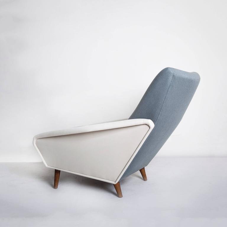 Model No. 807 Distex Lounge Chair by Gio Ponti In Excellent Condition In Brooklyn, NY