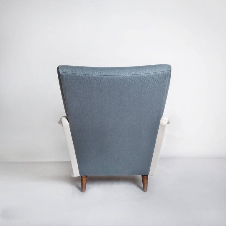 Mid-20th Century Model No. 807 Distex Lounge Chair by Gio Ponti