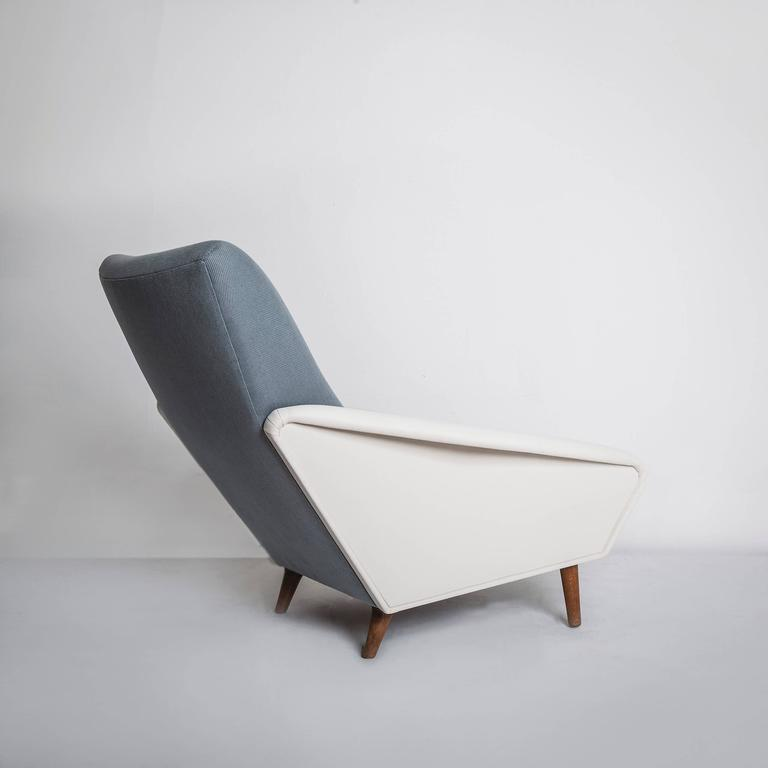 Upholstery Model No. 807 Distex Lounge Chair by Gio Ponti