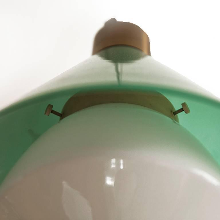 Glass Pendant by Peter Pelzel for Vistosi 4