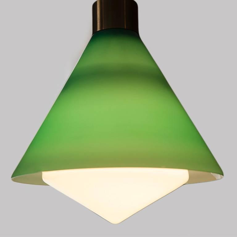 Glass Pendant by Peter Pelzel for Vistosi 6