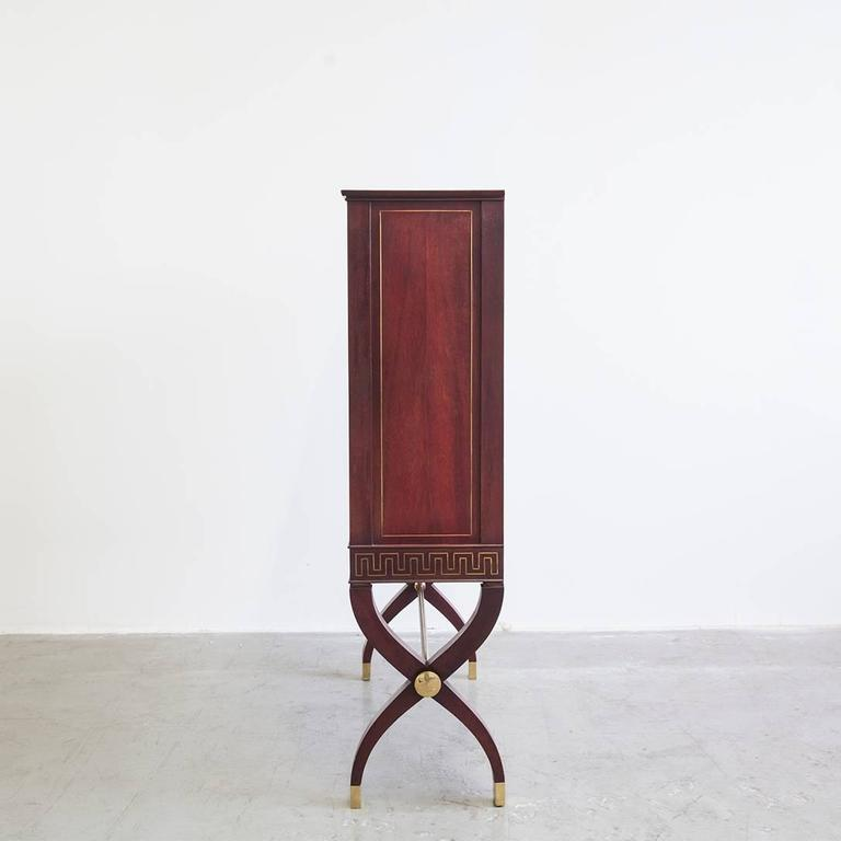 Modern Rare Pair of Cabinets by Osvaldo Borsani For Sale