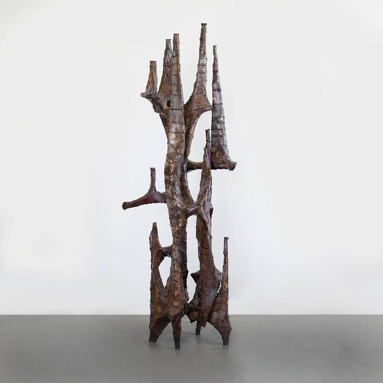 Modern Sculpture by Paul Evans For Sale