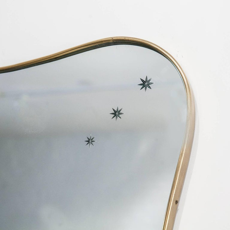 Modern Mirror by Paolo Buffa For Sale