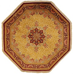 20th Century, Beige or Red Qom Rug
