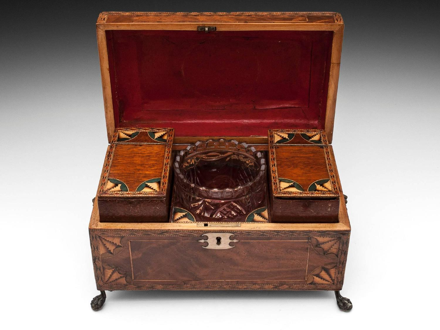 Antique Tea Chest For Sale At 1stdibs