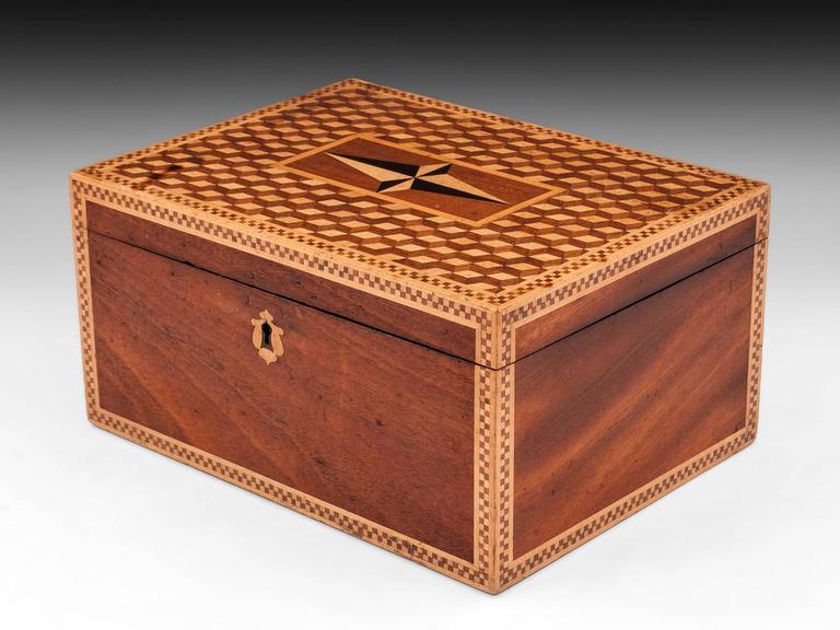 19th Century Victorian Mahogany Box In Excellent Condition For Sale In Northampton, United Kingdom