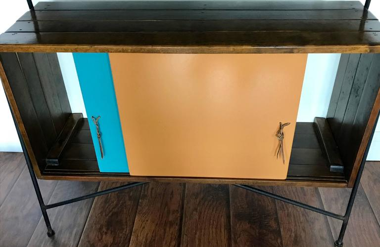 American Arthur Umanoff Sideboard, Cocktail Bar or Credenza for Raymor, 1950's For Sale