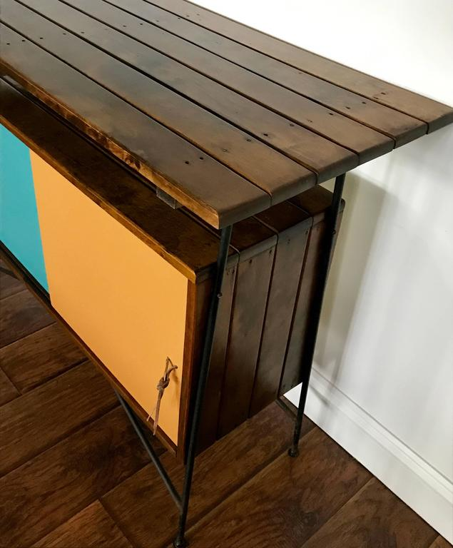 Arthur Umanoff Sideboard, Cocktail Bar or Credenza for Raymor, 1950's For Sale 1