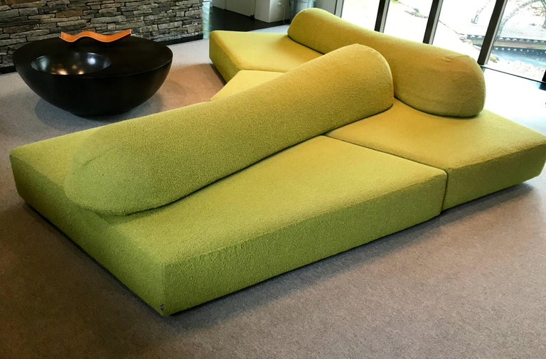 Modular Green Sectional Sofa